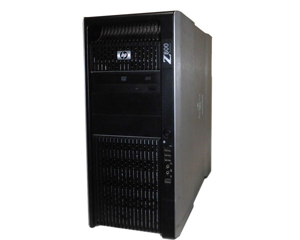 OSなし HP Quadro 空冷モデル (FF825AV) FX1800 8GB 3.6GHz×2 (SAS) 難あり DVD-ROM WorkStation Z800 X5687 300GB×1 Xeon 中古ワークステーション