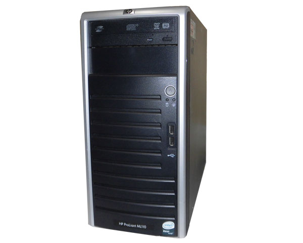 HP 2GB 160GB×1 Xeon-E3110 445607-B21 3.0GHz ML110 ProLiant G5 中古