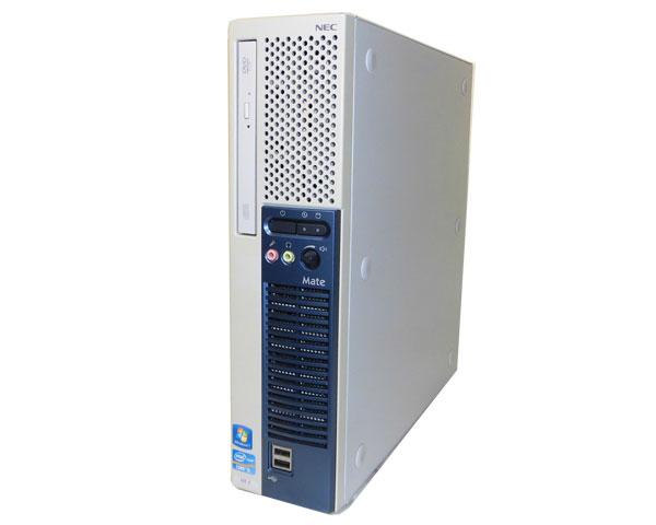 中古パソコン デスクトップ ビジネスPC スリム 本体のみ Windows7-64bit NEC Mate MK31ME-E (PC-MK31MEZCE) Core i5-3450 3.1GHz 8GB 250GB DVDマルチ