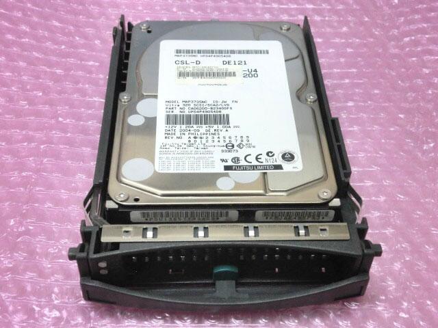 富士通 PG-HDH71K(CA06306-G018/CA06306-K018)3.5インチ 73GB 10K Ultra320 SCSI 80Pin【中古】