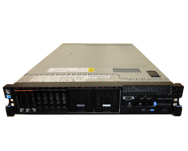 IBM System x3650 M3 7945-PAA【中古】Xeon E5506 2.13GHz/6GB/146GB×1/RAID