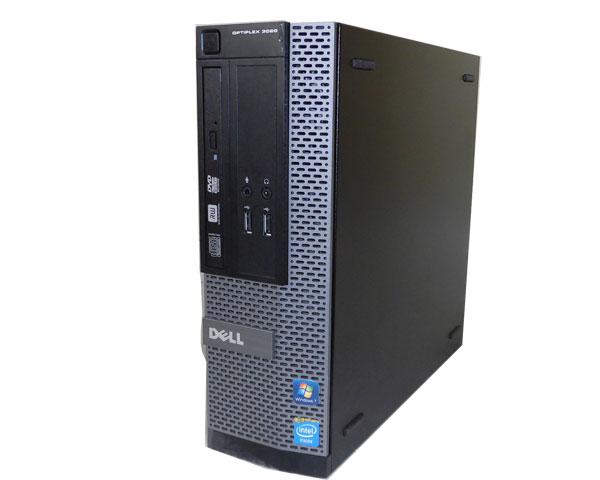 中古パソコン デスクトップ DELL OPTIPLEX 3020 SFF Windows7 Pro 32bit Core i3-4130 3.4GHz/4GB/500GB/DVDマルチ