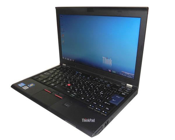 Lenovo Thinkpad X220i 4286-3MJ Windows7 Pro 32bit Corei3 2350M 2.3GHz 2GB 320GB 無線LAN 軽量 12.5インチ 中古ノートパソコン