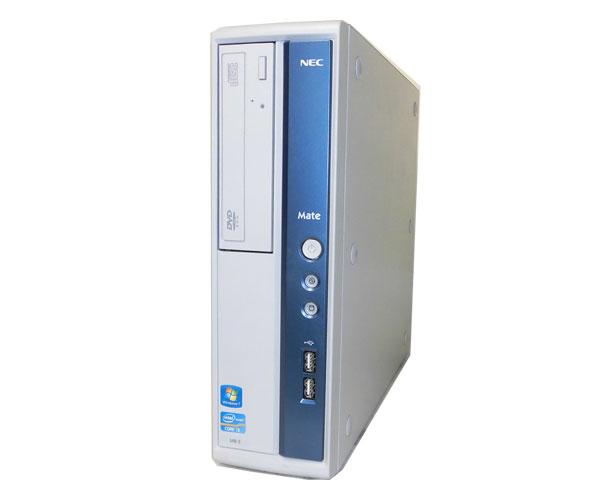 Windows10 NEC Mate MK33LB-ECore i3-2120 3.3GHz/4GB/250GB/DVD-ROM/Win10【中古デスクトップPC】【本体のみ】【2012年製】【USB3.0】【送料無料】