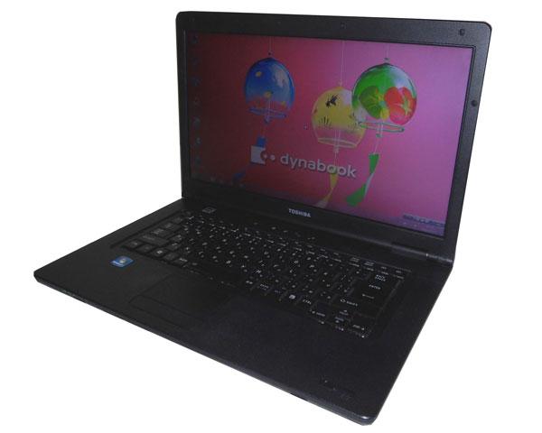 Windows7 Pro 32bit 東芝 dynabook Satellite B551/D 中古ノートパソコン ビジネスPC Core i3-2330M 2.2GHz/2GB/250GB/マルチ/15.6インチ/A4ワイド