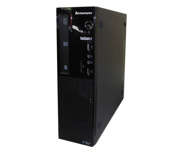 中古パソコン デスクトップ 本体のみ 省スペース型 OSなし Lenovo ThinkCentre Edge 72 Small 3493-ACJ Celeron G460 1.8GHz/4GB/250GB/DVD-ROM