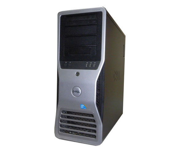 中古ワークステーション Windows7 Pro-64bit DELL PRECISION T7500 Xeon E5630 2.53GHz×2/12GB/500GB×1/Quadro FX3800