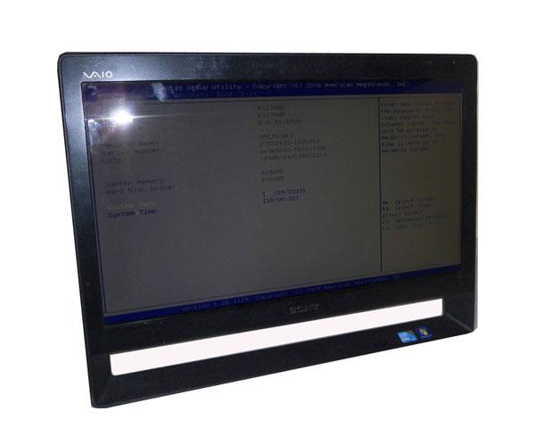 OSなし 中古パソコン 液晶一体型 SONY VAIO VPCJ118FJ Core i5-450M 2.4GHz/4GB/1TB/BD-R/21.5インチ 解像度 フルHD 1920×1080/無線LAN