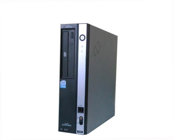中古パソコン デスクトップ Vista 富士通 ESPRIMO FMV-D3260 (FMVXDNK84) Celeron 430 - 1.8GHz/768MB/80GB/DVD-ROM