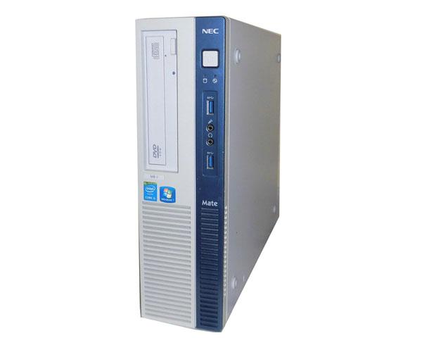 中古パソコン デスクトップ 省スペース型 本体のみ Windows7 Pro 64bit NEC Mate MK33MB-J (PC-MK33MBZCJ) Core i5-4590 3.3GHz/4GB/500GB/DVD-ROM
