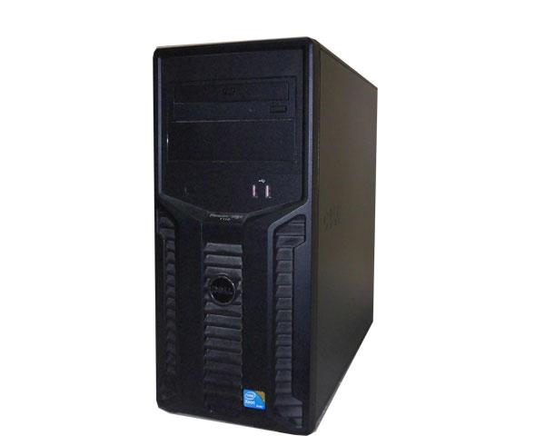 DELL PowerEdge T110【中古】Xeon X3430 2.4GHz/4GB/500GB×2