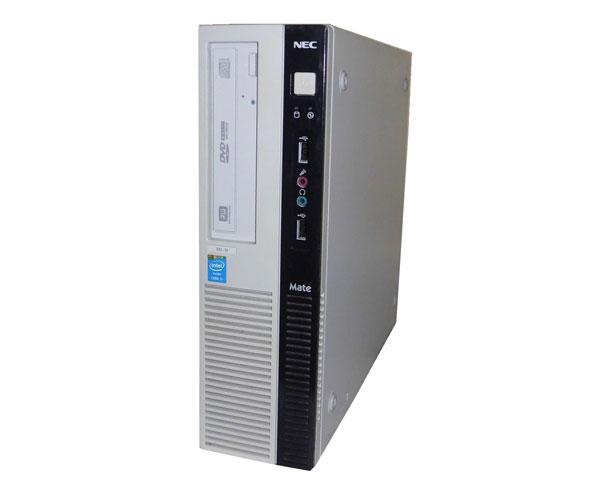 中古パソコン デスクトップ 本体のみ Windows10 Pro 64bit NEC Mate MK32ML-H (PC-MK32MLZ215SH) Core i5-4570 3.2GHz/4GB/250GB/DVDマルチ