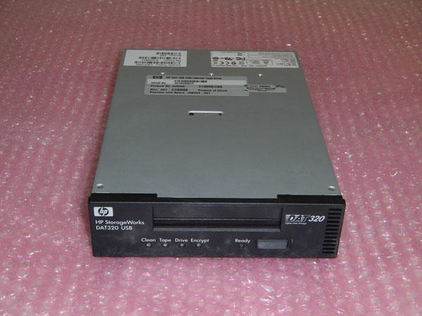 HP AJ825A DAT320 テープドライブ 内蔵型 USB接続 496504-001【中古】