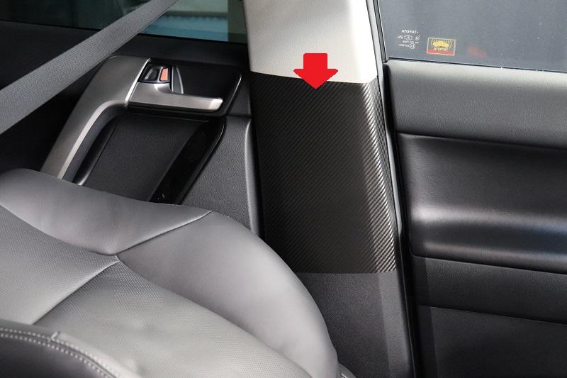 プラド シートベルトバックル傷防止シート