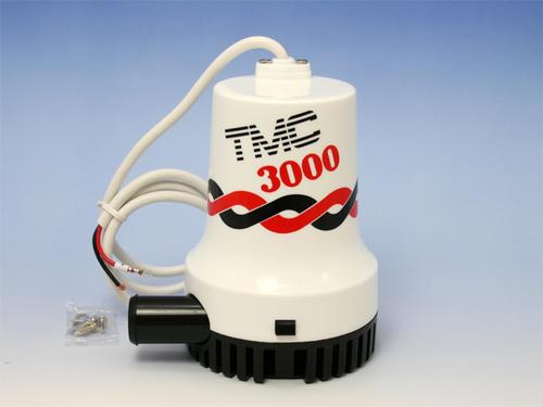 水中ポンプ TMC 3000GPH 大型水中ポンプ 12V