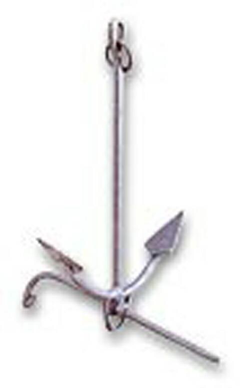 FSアンカー (唐人錨)亜鉛メッキ15kg