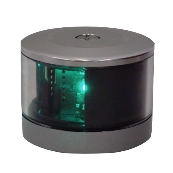 LED航海灯 第二種舷灯(緑) NLSG-2G 2014年新基準適合品 伊吹工業 20M未満船舶用検定品 船灯