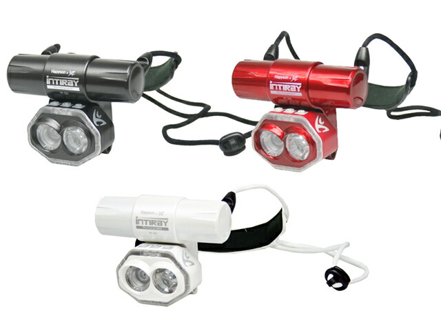 LEDライト 充電式チェストライト インティレイ YF-201 首掛け式 超散光 最大600ルーメン Hapyson 山田電器工業