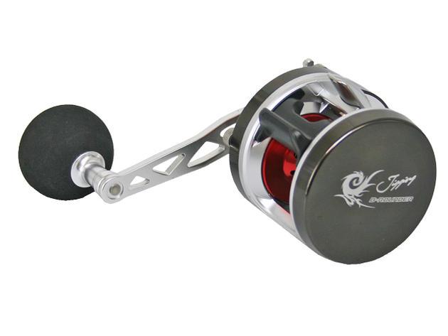 ジギング用ベイトリール BラウンダーJ パワーハンドル BJ200P シングル右ハンドルモデル PRO MARINE 釣り具