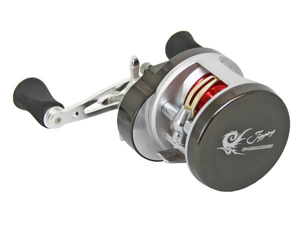 ジギング用ベイトリール BラウンダーJ ダブルハンドル BJ200W 右ハンドルモデル PRO MARINE 釣り具