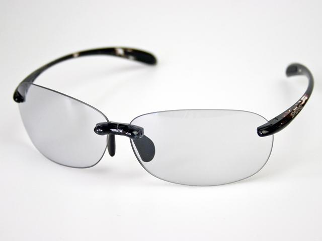 スワンズ SWANS SABE-0066 エアレスビーンズ 調光クリアtoスモーク UVカット 調光レンズ ケース&メガネ拭き付