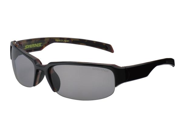 偏光サングラス スワンズ SWANS GW-3701 ディーアイ 偏光スモーク スポーツ・フィッシング・ゴルフ用 ケース&メガネ拭き付