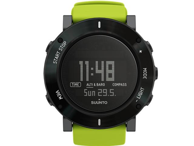 腕時計 SUUNTO Core Lime Crush SS020693000 スント コア・ライムクラッシュ 腕時計 アウトドアウォッチ (日本正規品)送料無料