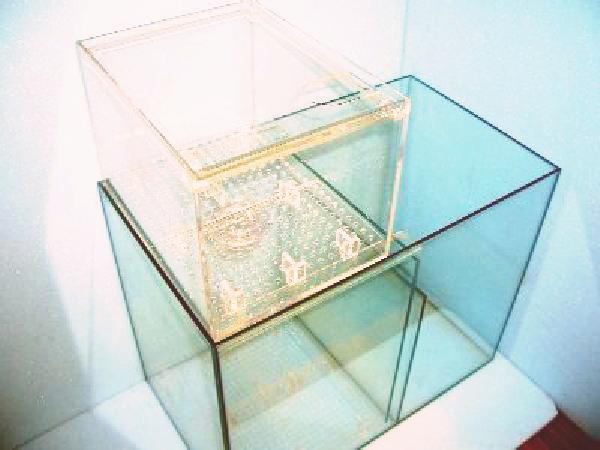 オーバーフロー濾過槽ガラス+アクリル製 50×29×58cm 特価!