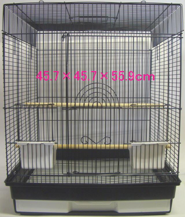 小鳥かご ケージ 大型 45×45×56cm 1801 × 2台 【送料無料】