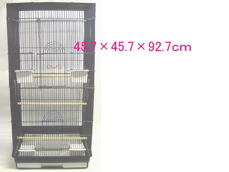大きい大型小鳥かご多数の小鳥を飼う時に! 小鳥かご ケージ 大型 ロング 45.7×45.7×92.7cm 1802-2 × 2台 【送料無料】