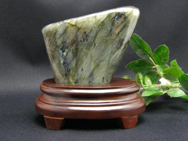 【高級1点物】ラブラドライト置き物 高さ×幅/910mm×930mm 現品 送料無料 天然石 パワーストーン