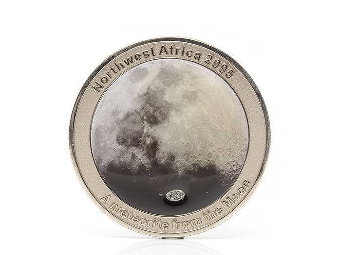 月の隕石 メダル 5mm前後 送料無料