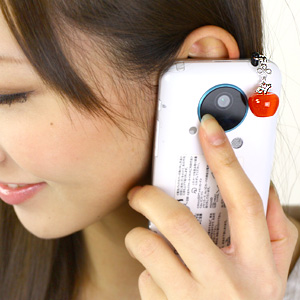 """Earrings ★ corocoro hobby for a cute Apple shake! """"SMPP! Cats is Apple """"ToS fs04gm apap8"""