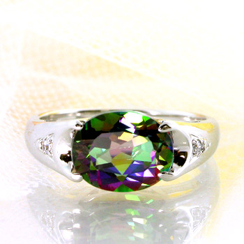 トパーズ リング 予約 レディース 指輪 11月 誕生石 在庫あり時即納 メール便送料無料 ミスティックトパーズ3ct×ダイヤモンド 爆買い送料無料 湧き上がる光が色を変える ストーリアリング 手元の万華鏡 TOA ダイヤモンド