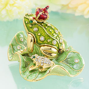 "Jewelry box the frog King and Prince's sparkling ☆ jewelry box appeared! ""Jewelry box-kingsdadieflogg] appeared!"
