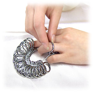 """Do you know ring size? """"Ring gauge (1-30 of) it! ToS"""