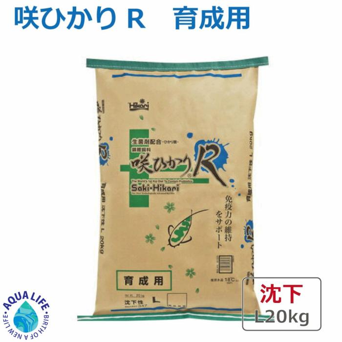 咲ひかりR 育成用 L 沈下 20kg キョーリン 送料無料