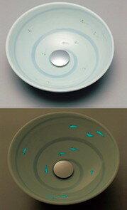 ###KVK KV01A [送料無料]美術工芸手洗鉢 天草陶石 フローライト 小川/プレーン