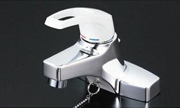 ###KVK KM7014T2CN [送料無料]洗面用シングルレバー式混合栓 ヒートン付 2ツ穴タイプ