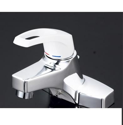 [KM7014T2HP]KVK 栓金具 洗面用シングルレバー式混合栓 ポップアップ式 ケーブイケー(旧品番:KM315HPG) [送料無料]