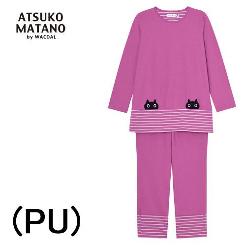 【ワコール マタノアツコ】Matano Atsuko長袖レディースパジャマゆったり3Lサイズ綿100%送料無料母の日内祝いお誕生日プレゼントに最適2020 新作春夏物