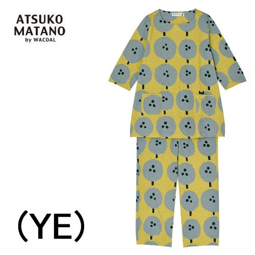 【ワコール マタノアツコ】Matano Atsuko7分袖9分パンツ レディースパジャマ綿100%日本製送料無料ギフトラッピング無料母の日お誕生日プレゼントに最適2020 新作春夏物