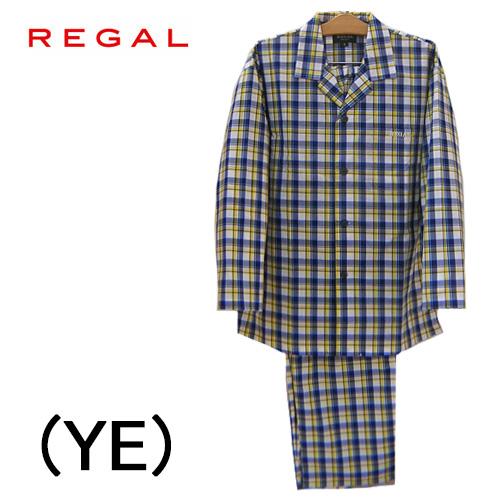 【REGAL】リーガルパジャマ 前開き長袖メンズパジャマゆったりLLサイズ綿100%送料無料ギフトラッピング無料お見舞いお誕生日プレゼントに最適ルームウエアナイトウエア父の日ギフト2020 新作春夏物