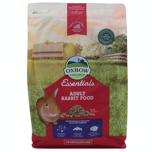 うさぎ うさぎのえさ オックスボウ シニア アメリカン 1才以上のウサギに OXBOW アダルトラビットフード4.5kg エッセンシャル バニーベーシックスT オックスボーフードOK 在庫一掃 最新