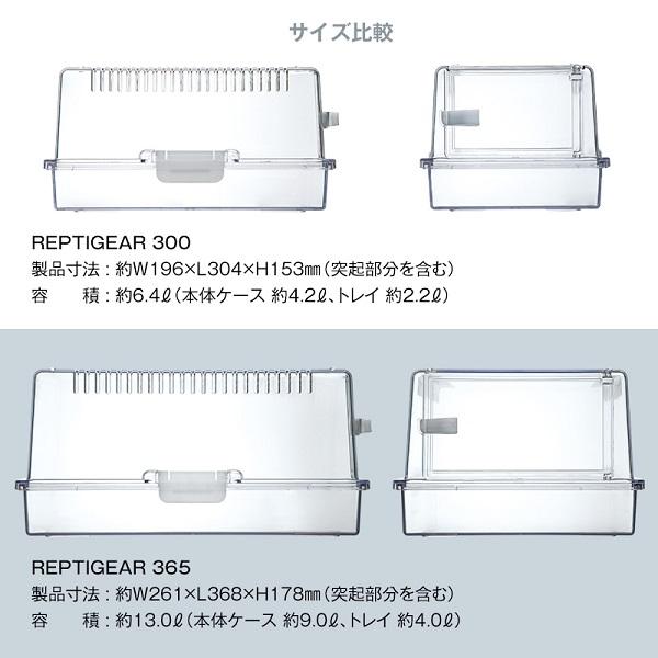 スドー レプティギア 365 RX-472(サイズ:261x368x178mm)