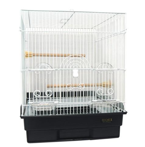 鳥かご HOEI 35角パステル ブラック(組立サイズ:370x415x440mm)