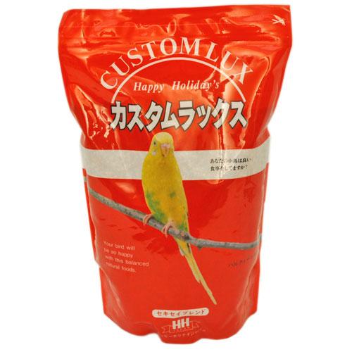 セキセイインコが好んで食べるシード配合フードOK カスタムラックス 商店 セキセイブレンド 2.5L 小鳥のエサ バードフード セキセイインコ 新商品!新型