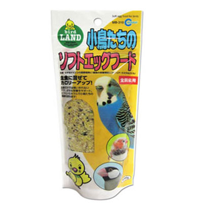 新色追加して再販 倉 主食にプラスして栄養をサポート マルカン 小鳥たちのソフトエッグフード 100g