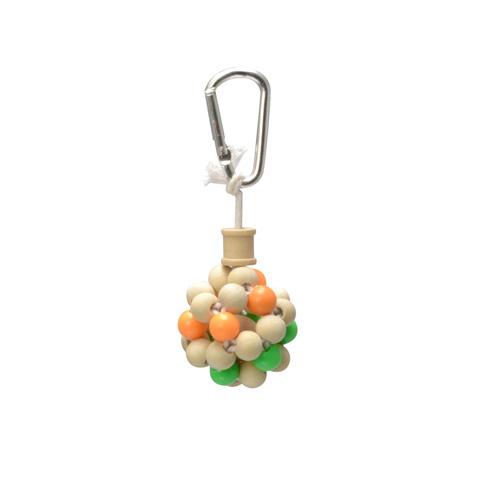 【鳥かご】【おもちゃ】【ブランコ】【小鳥】【木製】【アスレチック】OK サンコー バードトイ(バルーン)