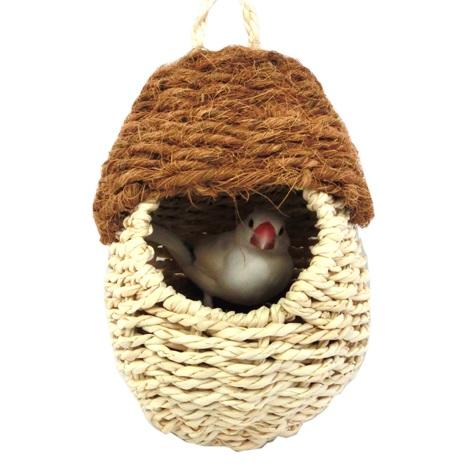 卓出 小鳥 小動物の天然素材のキノコハウス 川井 カワイ 送料無料 激安 お買い得 キ゛フト ポルチーニハウス サイズ:約120φ×H170mm ピッコロ